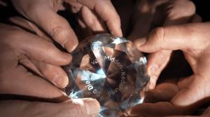 Diamant handen