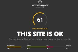 Website grader proximare